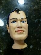 Superman 1965 Ideal Toy Hand Puppet Rare - Head Only