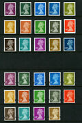 2002 Imperf And03900pand039 Colour Trial Standards Phos Set Of Fifteen In Different Col