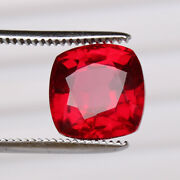 Natural Certified Red Ruby 9.70 Ct Pigeon Square Cut Mozambique Loose Gemstone