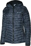 Columbia Women's W South Valley Hybrid Light Insulated Hooded Full Zip Jacket L