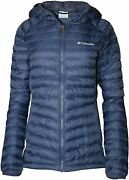 Columbia Women's W South Valley Hybrid Light Insulated Hooded Full Zip Jacket M