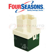 Four Seasons Cooling Fan Motor Relay For 1993-1997 Geo Prizm 1.6l 1.8l L4 - Zs