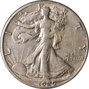 1929-s Walking Liberty Half Great Deals From The Executive Coin Company