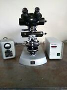 Carl Zeiss Universal Research Microscope Lots Of Extras