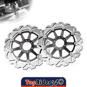 Brake Disc Rotor Set Front X2 For Mz 1000 S 01-03 01 02 03