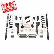Zone 6 Front And Rear Suspension Lift Kit For Dodge Ram 1500 Mega Cab 4wd 2008