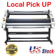 60 Full Auto Wide Format Cold Laminator Laminating Machine With Trimmer Pick Up