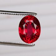 Natural Mozambique Red Ruby 9.20 Ct Perfect Oval Cut Loose Certified Gemstone