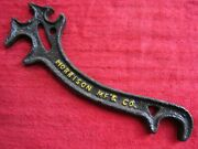 Antique Morrison Mf And Co. Farm Tractor Implement 10 Wrench Tool