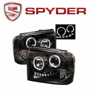 Spyder Auto Headlight Set For 2005-2007 Ford F-250 Super Duty - Electrical Hs