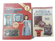 Schroeder's Antiques And Collectibles Price Guide Lot Of 2 Reference Books