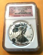 San Francisco Eagle 2012 S Eagle Reverse Pf70 Ngc 2585592-040 Just One Coin