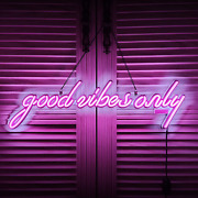 Good Vibes Only Led Neon Signs Art Wall Lights For Beer Bar Club Bedroom Windows