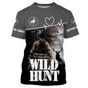 Wild Hunt Hunting Is My Cardio Shirt 3d All Over Printed Shirts For Men