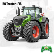 Rc Tractor 1/16 Farm 2.4g Remote Control Trailer Dump/rake/water Truck Large Toy