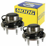 Moog Front Wheel Bearing And Hub Assembly Pair For Cadillac Chevrolet Gmc 2wd