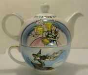 2011 Wizard Of Oz Porcelain Individual Teapot Cup With Lid Paul Cardew England