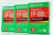 [ New 3 Packs ] Fuji Fp-100c Instant Color Film Expired 06/2011 From Japan