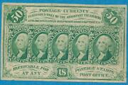 Fr.1312 Fifty Cent First Issue Fractional Choice Vf