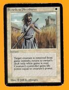Swords To Plowshares - Alpha Edition - Old School - Mtg 1