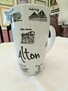 Alton Illinois Mug Cup Collectible With Famous Locations Artist Signed