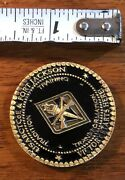 Usa Bat Co E And Fort Jackson South Carolina Commanding General Challenge Coin