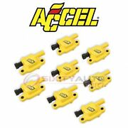 Accel Direct Ignition Coil Kit For 2001-2006 Gmc Sierra 1500 Hd - Zd