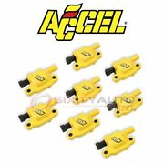 Accel Direct Ignition Coil Kit For 2007 Gmc Sierra 2500 Hd Classic 6.0l 8.1l Qh
