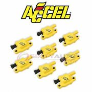 Accel Direct Ignition Coil Kit For 2007-2013 Chevrolet Silverado 3500 Hd Tb