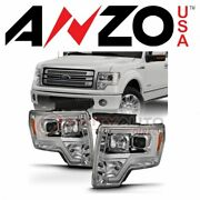 Anzousa Headlight Assembly For 2009-2014 Ford F-150 - Electrical Lighting Ti