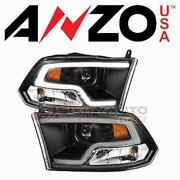 Anzousa Headlight Assembly For 2009-2010 Dodge Ram 1500 - Electrical Xh