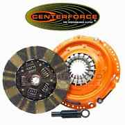 Centerforce Dual Friction Clutch Pressure Plate And Disc Set For 2007-2011 Vw