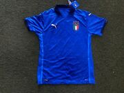 Italy Authentic Home Soccer Jersey- 2020/21