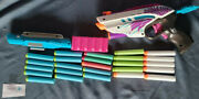 Nerf Rebelle Pink Crush With 25 Ammo Laser Pointer Ammo Holder Used 2013