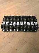 Lot Of 10 Square D Homeline Hom115pdf Afci/gfci 15a Dual Function Breaker Used