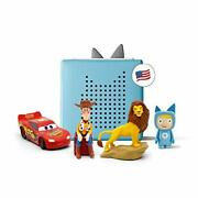 Toniebox Blue Starter Set Bundle - Includes Creative Woody From Toy Story Simb