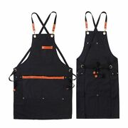 Kitchen Aprons Polyester Cotton Chef Bbq Grill Work Shop Strap Cooking Baking
