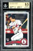 Mike Trout Rookie Card 2011 Topps Update Us175 Bgs 9.5 9.5 9.5 9.5 9