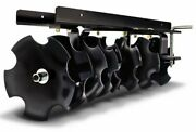 Agri-fab Ground-engaging Attachment Sleeve Hitch Disc Cultivator 45-0266 Black