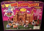 1991 Mint In Sealed Box Toy Street King Arthur's Castle Playset Marx Style 40pc