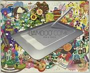 Wacom Pen Tablet Bamboo Comic Pen And Touch Cth-461/s1 Usb Japan Ltd