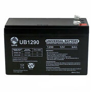 Upg 12v 9ah Replacement Battery Compatible With Humminbird Fishfinder 570 + 12v
