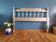 Ethan Allen Rose Gold Painted Full Size 57 Headboard