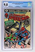 Amazing Spider-man Annual 13 - Marvel 1979 Cgc 9.8 Doctor Octopus Appearance. S