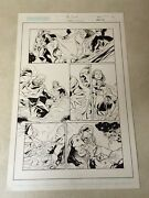 The First 27 Original Art Crossgen 2003 Cool Detailed Panel Page