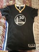 Authentic Nba Adidas Rev 30 Stephen Curry Sleeve Jersey Size Xxl