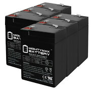Mighty Max 6v 4.5ah Battery Replaces Cgr Medical Corp 4900 Shampaine - 6 Pack