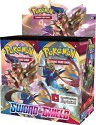 Sealed Pokemon Sword And Shield Base Set Booster Box And New -kid Icarus-