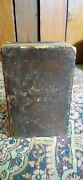 Best Antique Early Leather Bound German Hymnal Prayer Book 1828 Gln Imprint 7