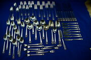 Rogers Eternally Yours 67 Pieces-knives Forks Spoons Cocktail-flat Butter Round